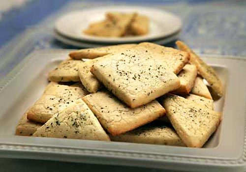 Pizzeria Mozza Rosemary Pine Nut Cookies. These cookies were so good! Have to make them for myself now!