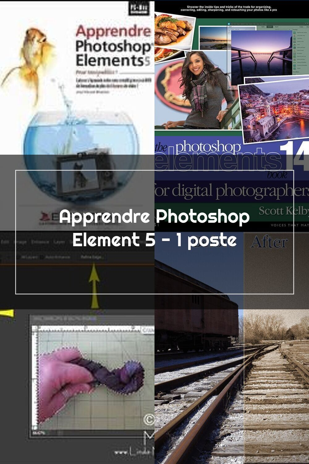 Apprendre Photoshop Element 5 1 Poste In 2020 Photoshop Elements Photoshop Digital Photographers