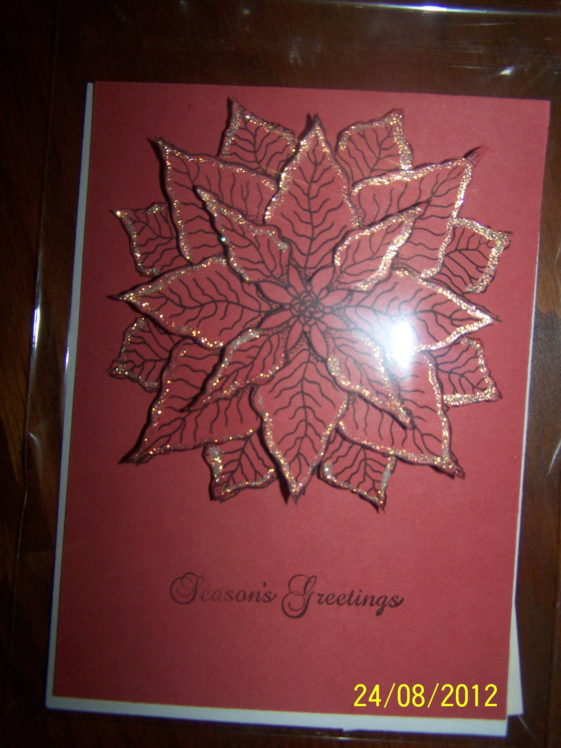 Layered Poinsettia