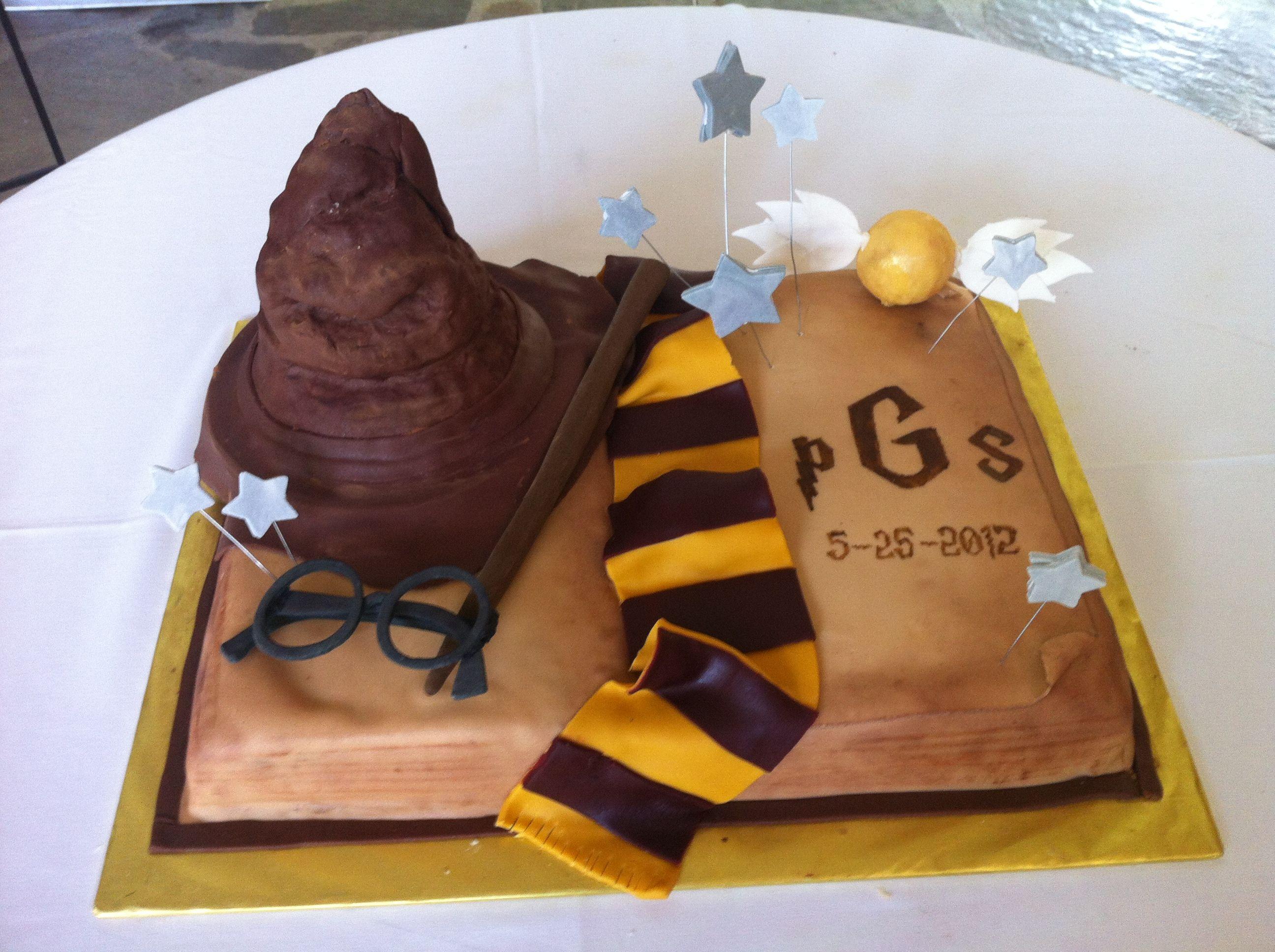 Harry Potter Groom's Cake!