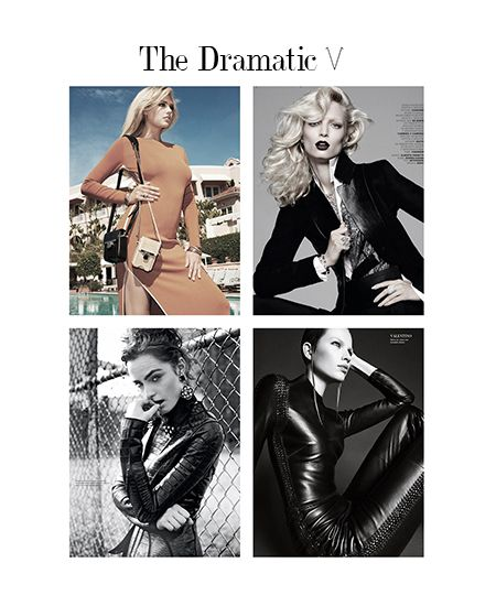Some examples of The Dramatic Style Archetype. | Kibbe's Dramatic ...