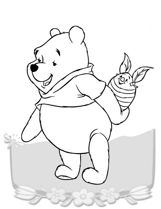 Coloriage dessins dessins imprimer et la couleur en - Comment dessiner winnie l ourson ...