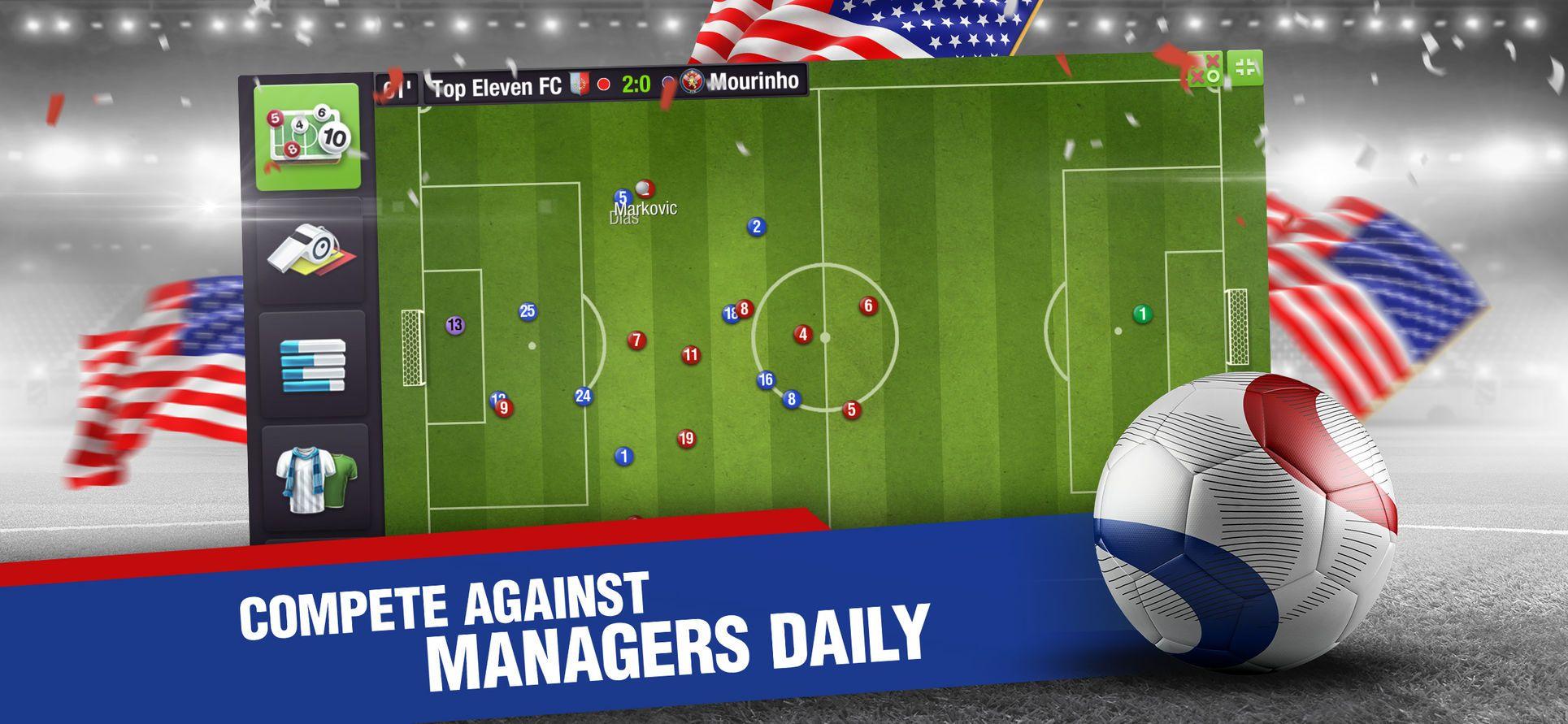 Top Eleven 2018 Soccer Manager GamesNordeusSportsios