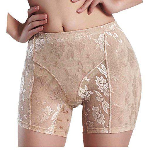 2d78835b49d Women s Butt Lifter Shaper Seamless Tummy Control Hi-waist Thigh Slimmer at Amazon  Women s Clothing store