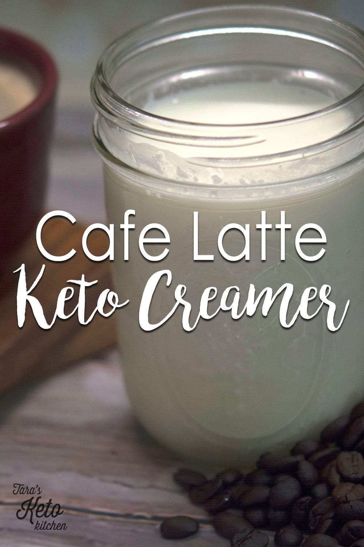 Keto creamer caffe latte coffee creamer coffee