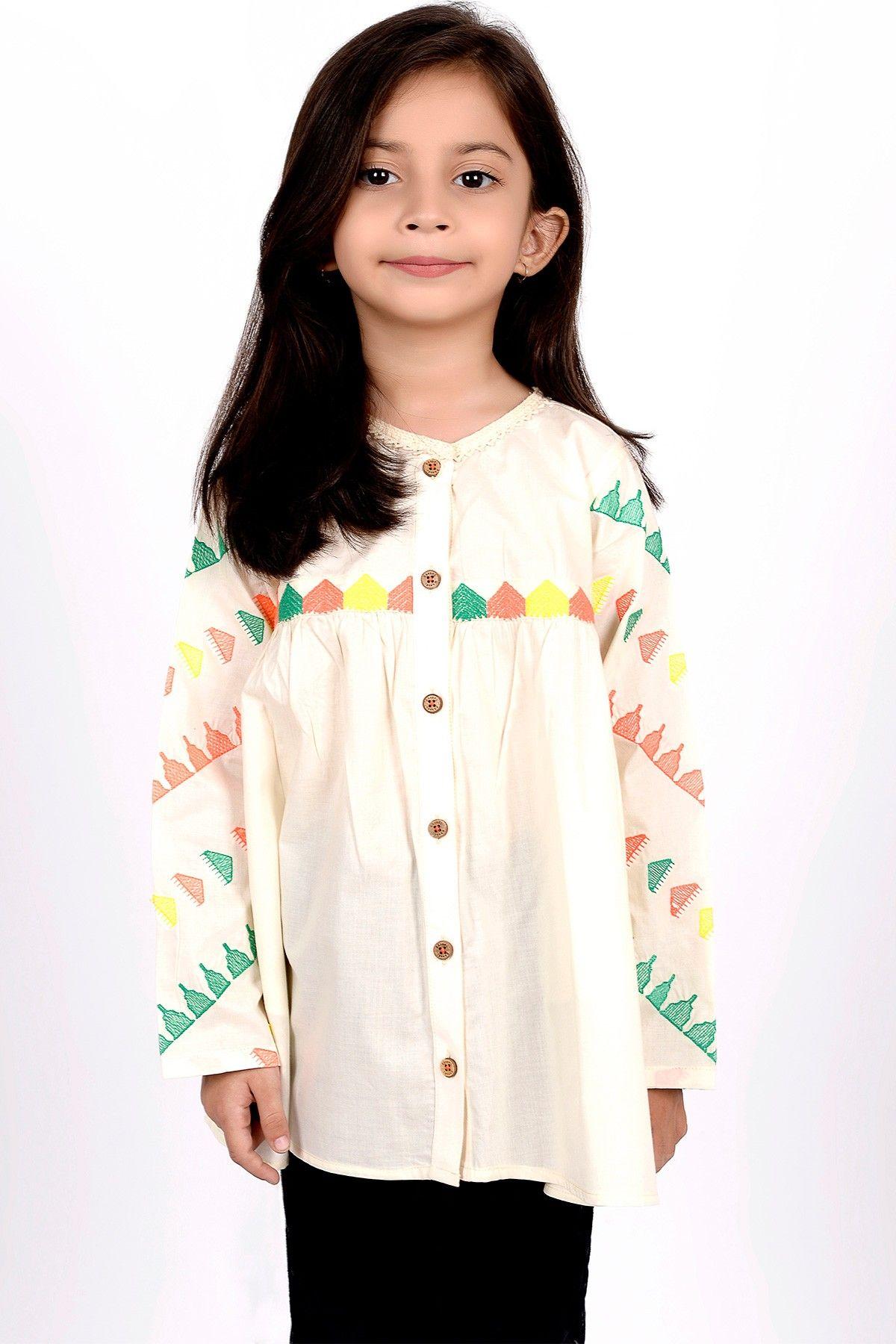 Khaadi - Embroidered Blouse - Kids | Khadi | Pinterest | Pakistani ...