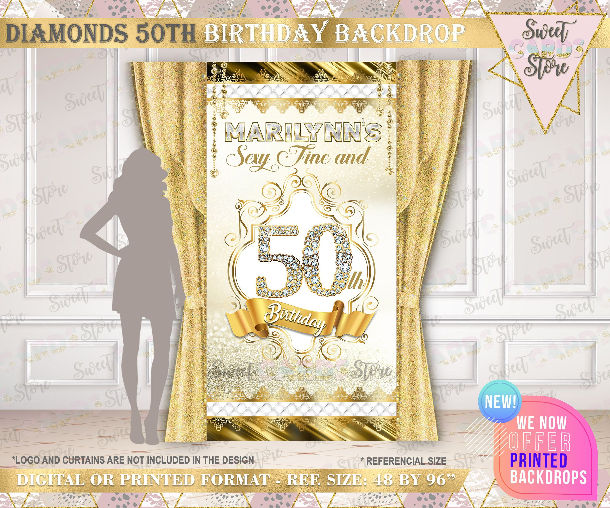 Pin On 50th Birthday