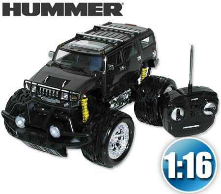 Official License Hummer Remote Control Car With Dual Joystick Steering 1 16 Scale Black Remote Control Cars Remote Control Cars Toys Remote Control