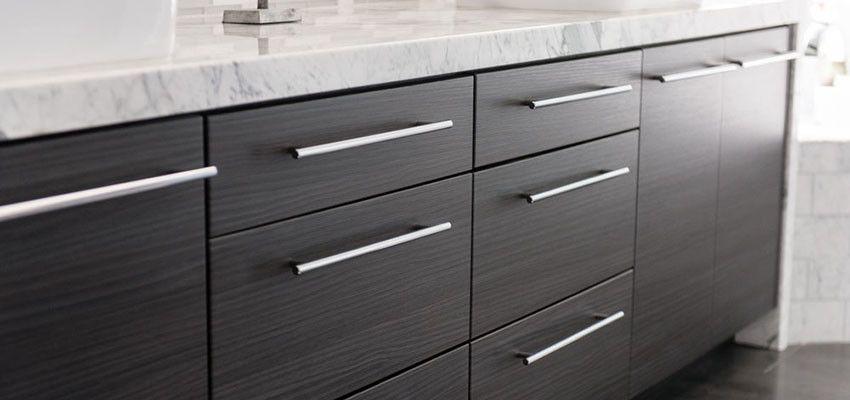 Contemporary Kitchen Pulls Bathroom Vanity Drawer The