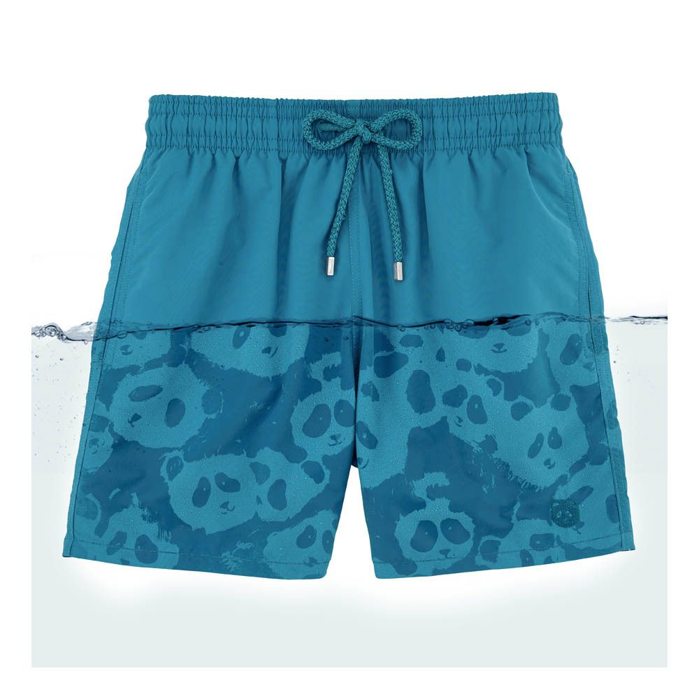 Panda Swimshorts Vilebrequin Children A Large Selection Of Fashion On Smallable The Family Concept Store More Than 600 Br Short De Bain Bleu Canard Maillot - Store Bleu Canard