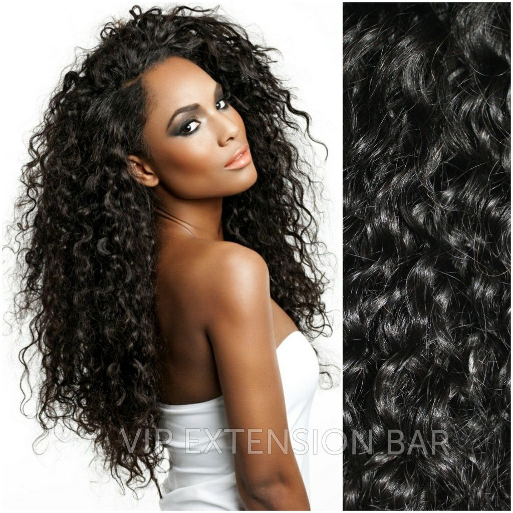 Brazilian Deep Wave Weft Hair Extensions | HAIR | Peinados