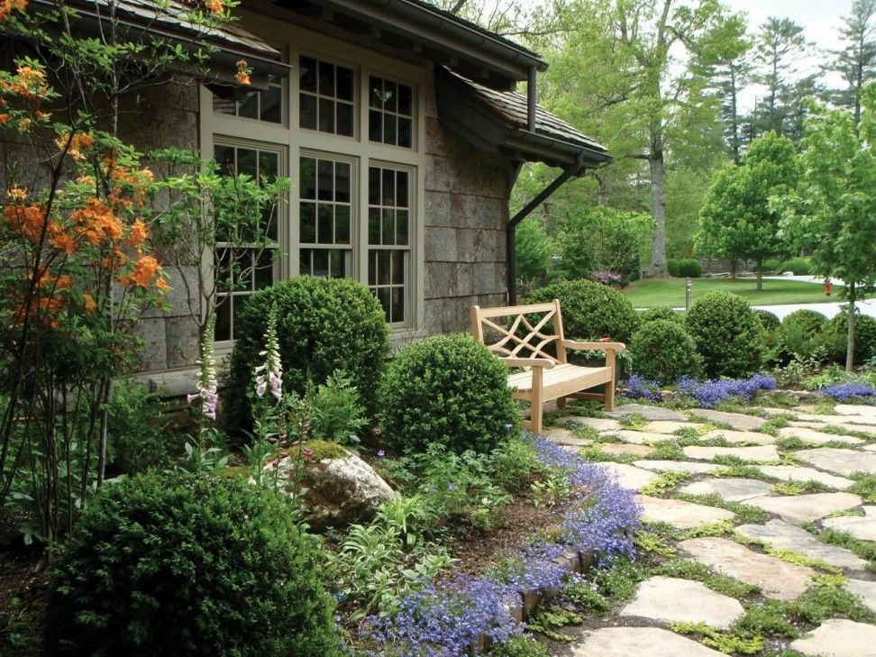 impressive cottage style garden design enjoyable cottage - Garden Design Cottage Style