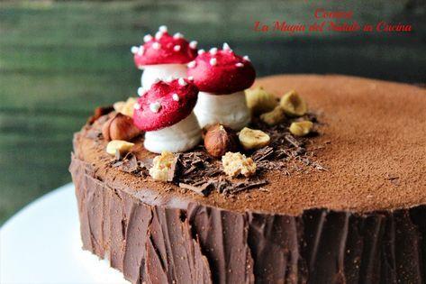 Glassa Per Tronchetto Di Natale.Torta Tronchetto Di Natale Nina S Lil Bakery Cake Decorating