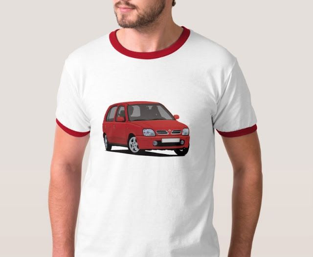 Supermini from Japan, the Nissan Micra of March from late 90's printed on T-shirts and other gifts. Find image in many color options. #nissanmicra #nissanmarch #nissanmicrak11 #nissanmicrak11c #corneringcar #nissantshirt #micra #micrak11 #supermini #japanesecar #carillustration #redcar #carillustration #cardrawning #youngtimers #automobileillustration #voitures #carro #macchina #bilar #autos