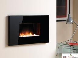 The Flamerite Yukon Electric Fire Is A Stylish Wall Mounted Electric Fire That I Wall Mounted Electric Fires Wall Mount Electric Fireplace Electric Fire Suites