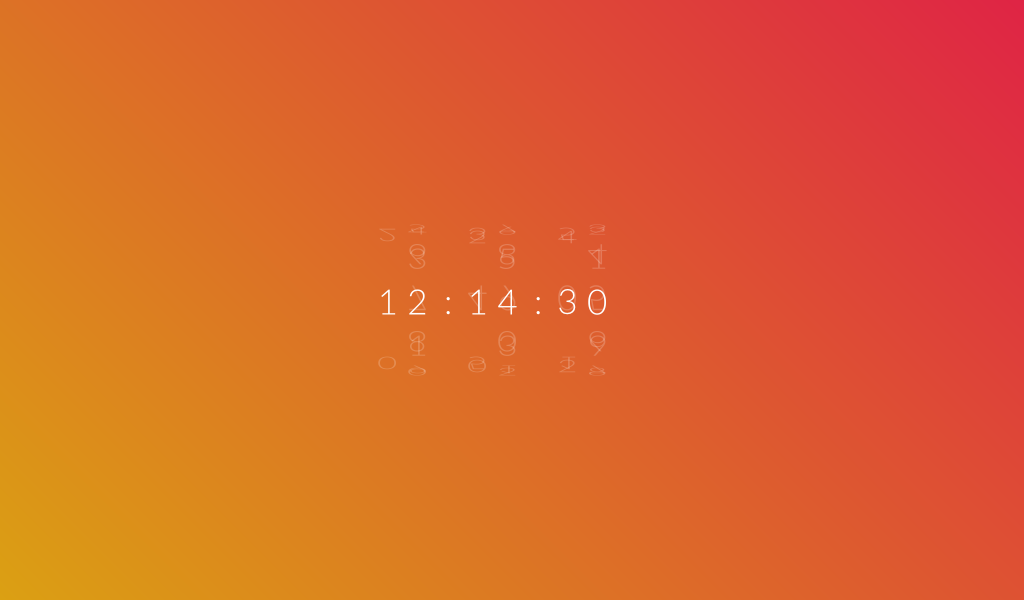 Rotate Clock [CSS Only] | CSS/jQuery | Web design, Html css
