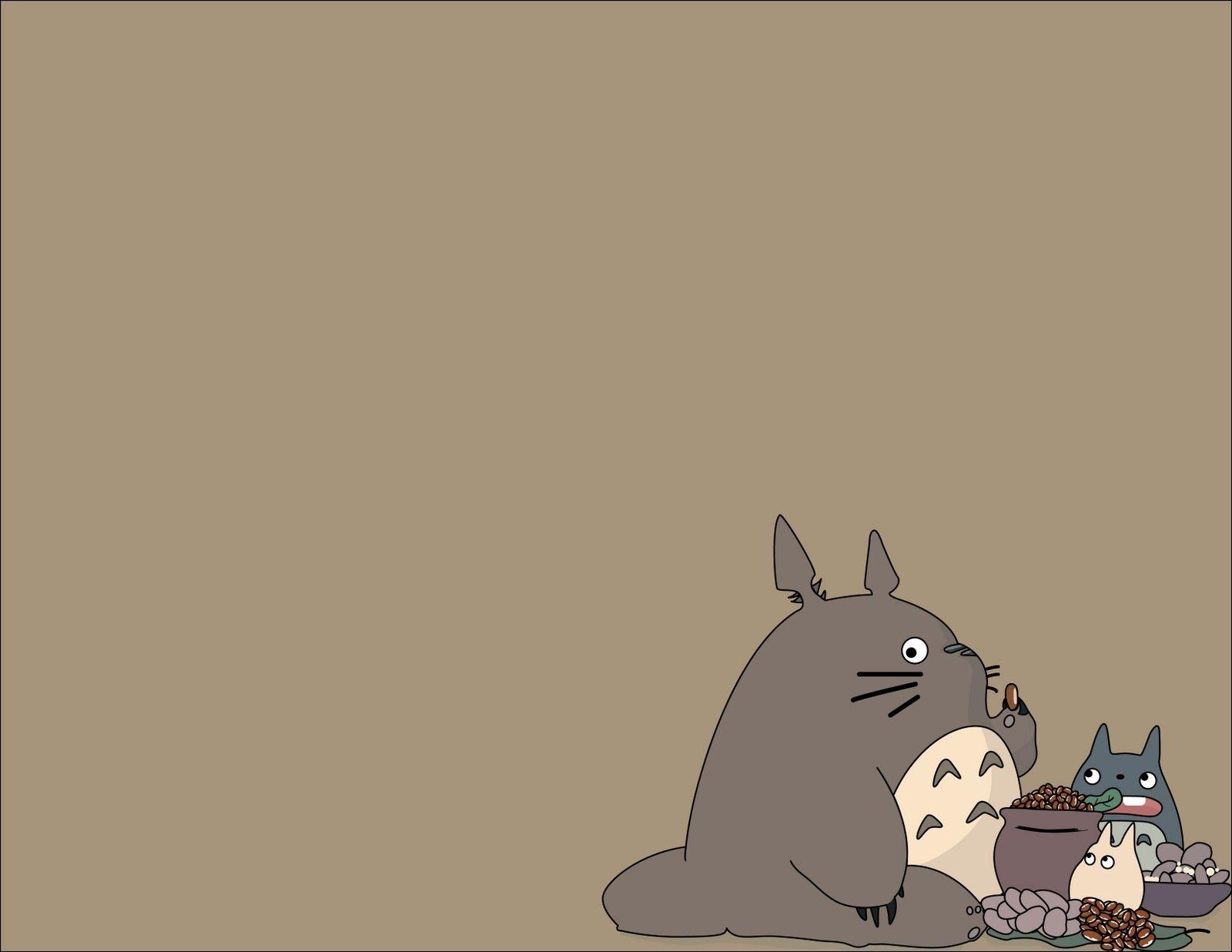 Wallpaper iphone totoro - Totoro Wallpaper
