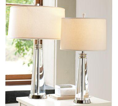 Bancroft Table Amp Bedside Crystal Lamps Potterybarn