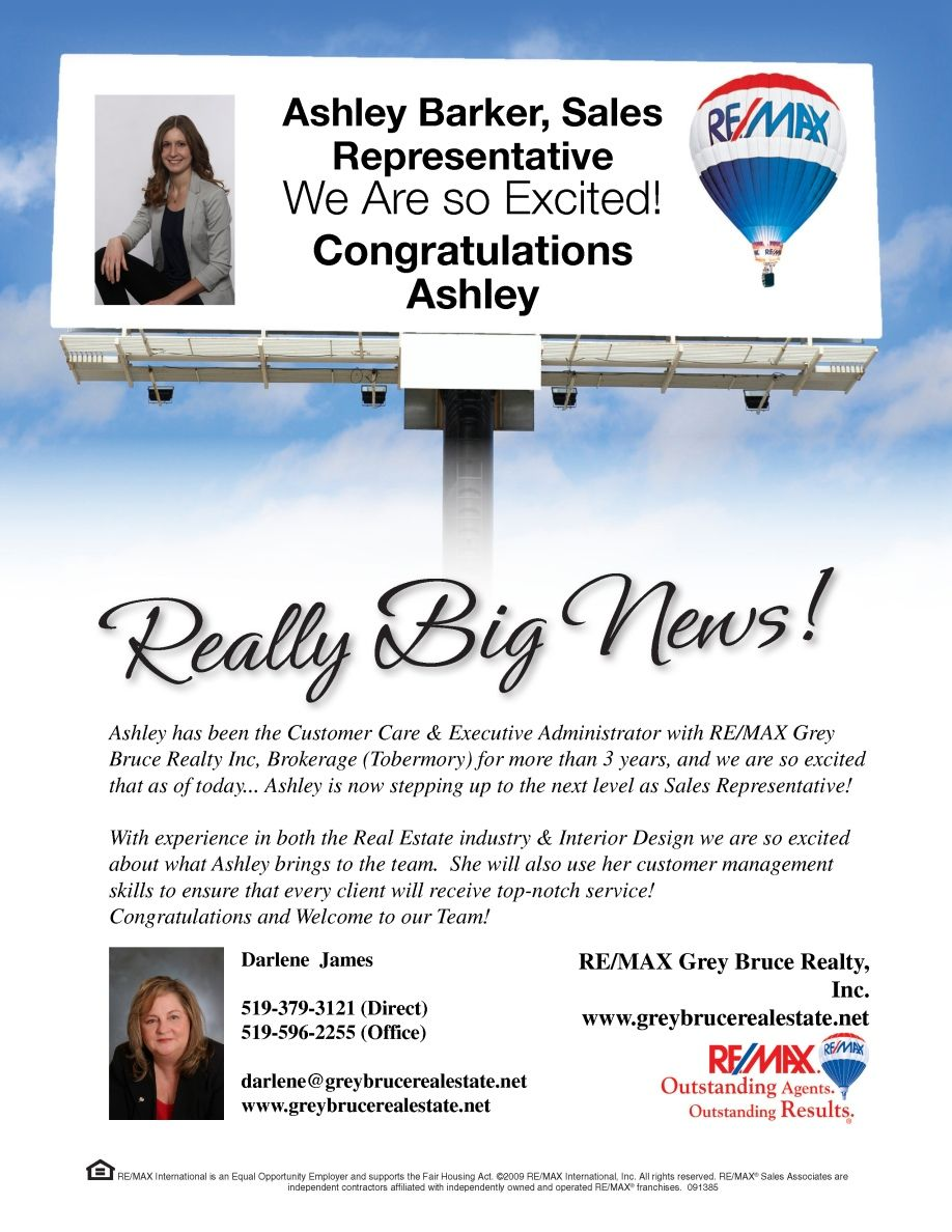 Ashley remax maryland real estate real estate news