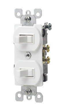 Leviton 5241w 15 Amp 120277 Volt Duplex Style Singlepole3way Ac Combination Switch Commercial Grade White Click On The Image For Add Gadget World Door Switch