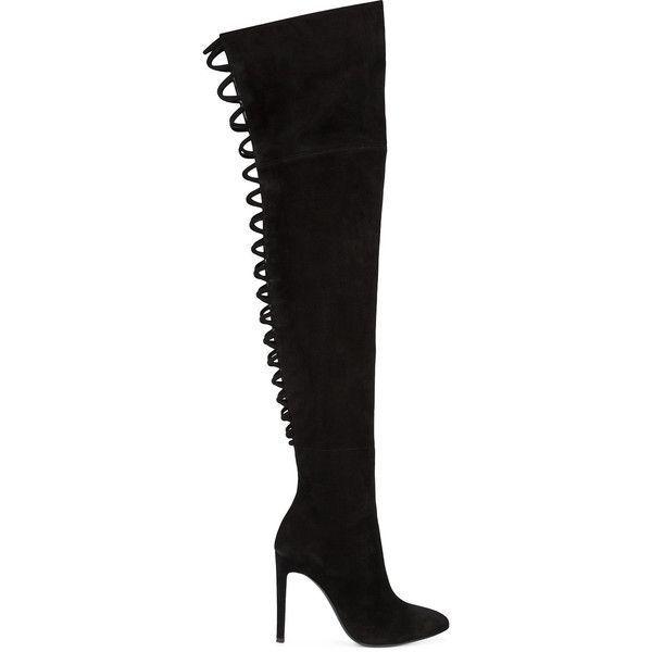 Giuseppe Zanotti Design thigh high boots ($1,695) ❤ liked on ...