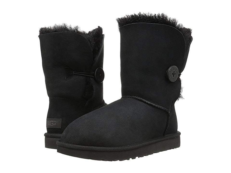 Ugg Bailey Button Ii Black Women S Boots The Adorable
