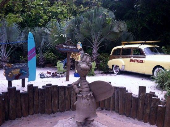 Summer water park fun in Orlando.