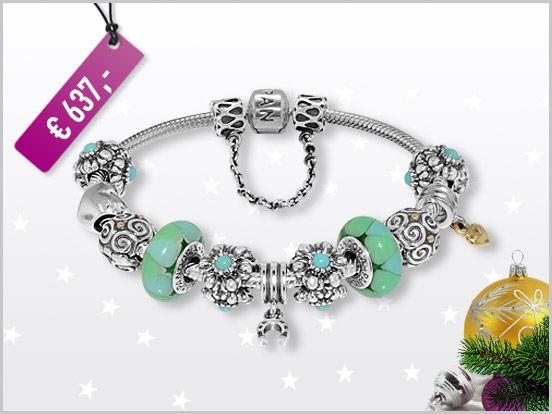 6d1237bbf Pandora armband gold silber – Dure sieraden met diamanten