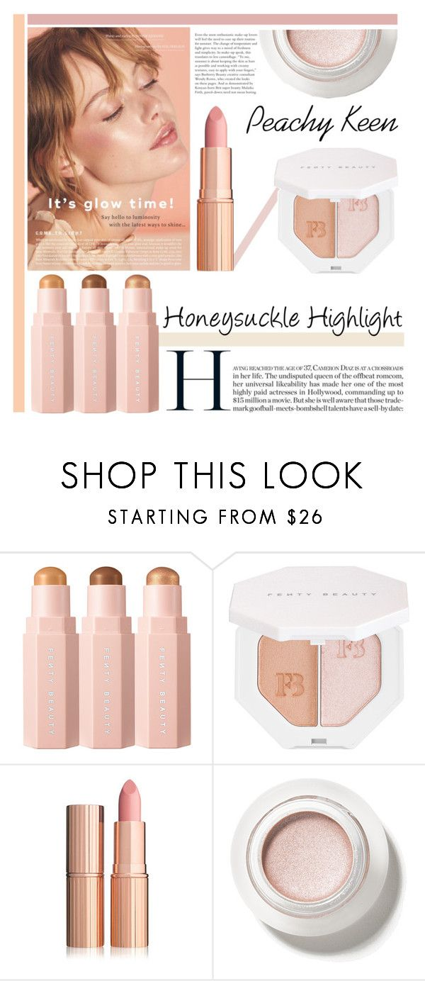 """""""Honeysuckle Highlight"""" by missmodel13 ❤ liked on Polyvore featuring beauty and Puma"""