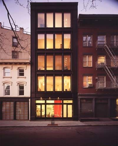 Geothermal Manhattan Townhouse Architecture Geothermal