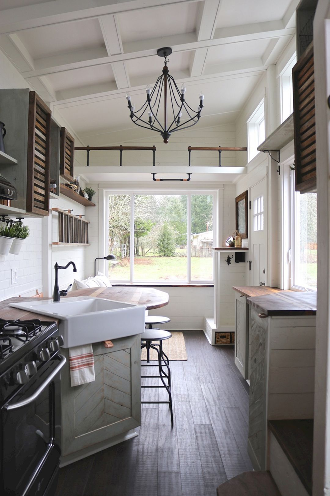 Awesome tiny kitchen design for your beautiful house also best small homes images bathroom vanity cabinets home decor rh pinterest