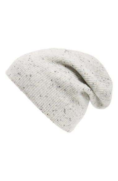 42f45d81 rag & bone 'Catherine' Cashmere Slouch Beanie / @nordstrom #nordstrom