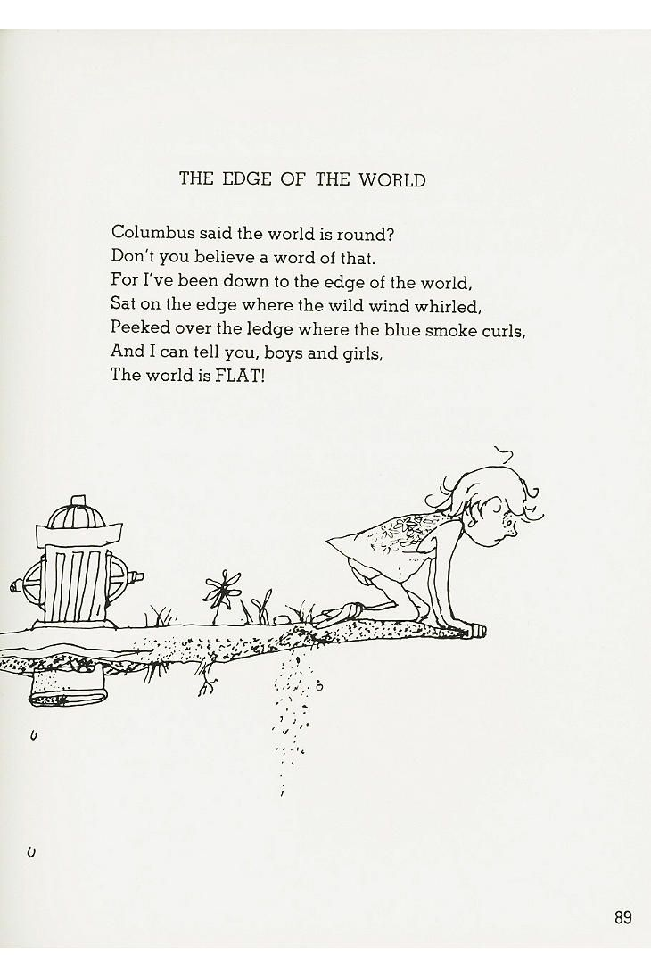 Where The Sidewalk Ends Poems And Drawings By Shel Silverstein