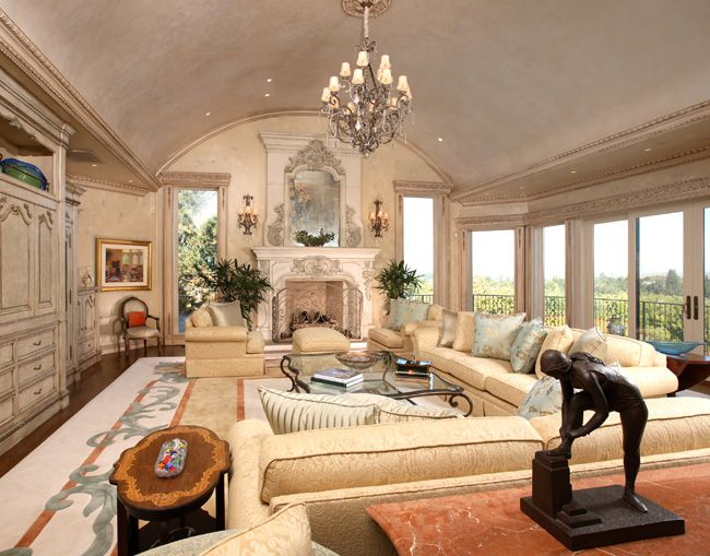 French Living Room Design Classy French Chateau Interiors  Formal French Chateau « Culbertson Inspiration Design