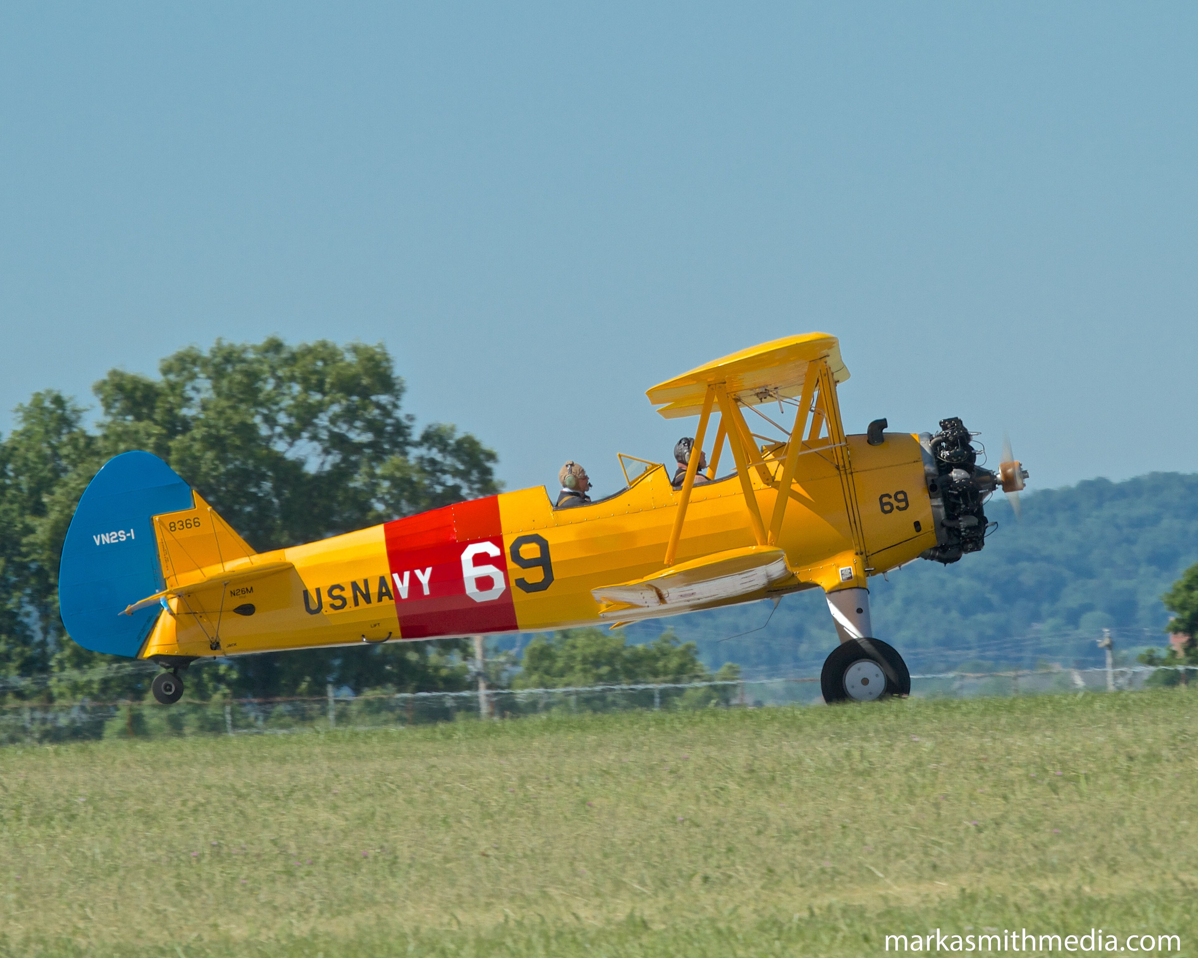 Boeing N2S-1 Stearman | WWII Weekend and Air Show | Fighter