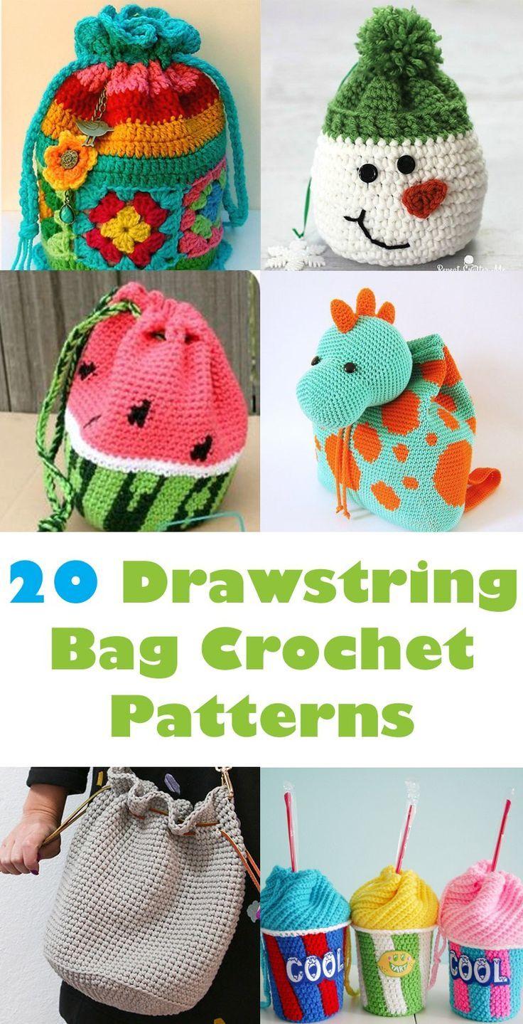 bag crochet patterns - crochet pattern pdf - amorecraftylife.com ...