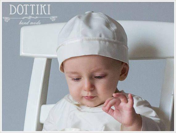 Baby Boy Christening Cap 82a3ddce8aa
