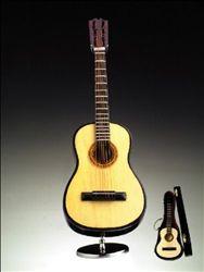 "9"" Steel String Guitar Music Box #hiddentreasuresdecorandmore"