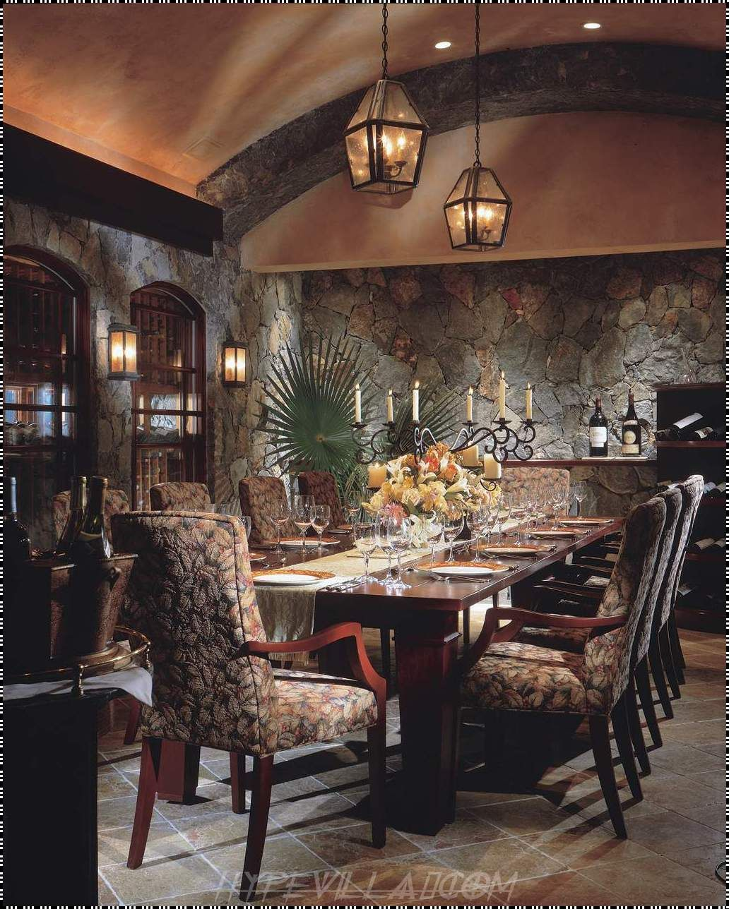 Luxury Dining Room Home Construction Interior