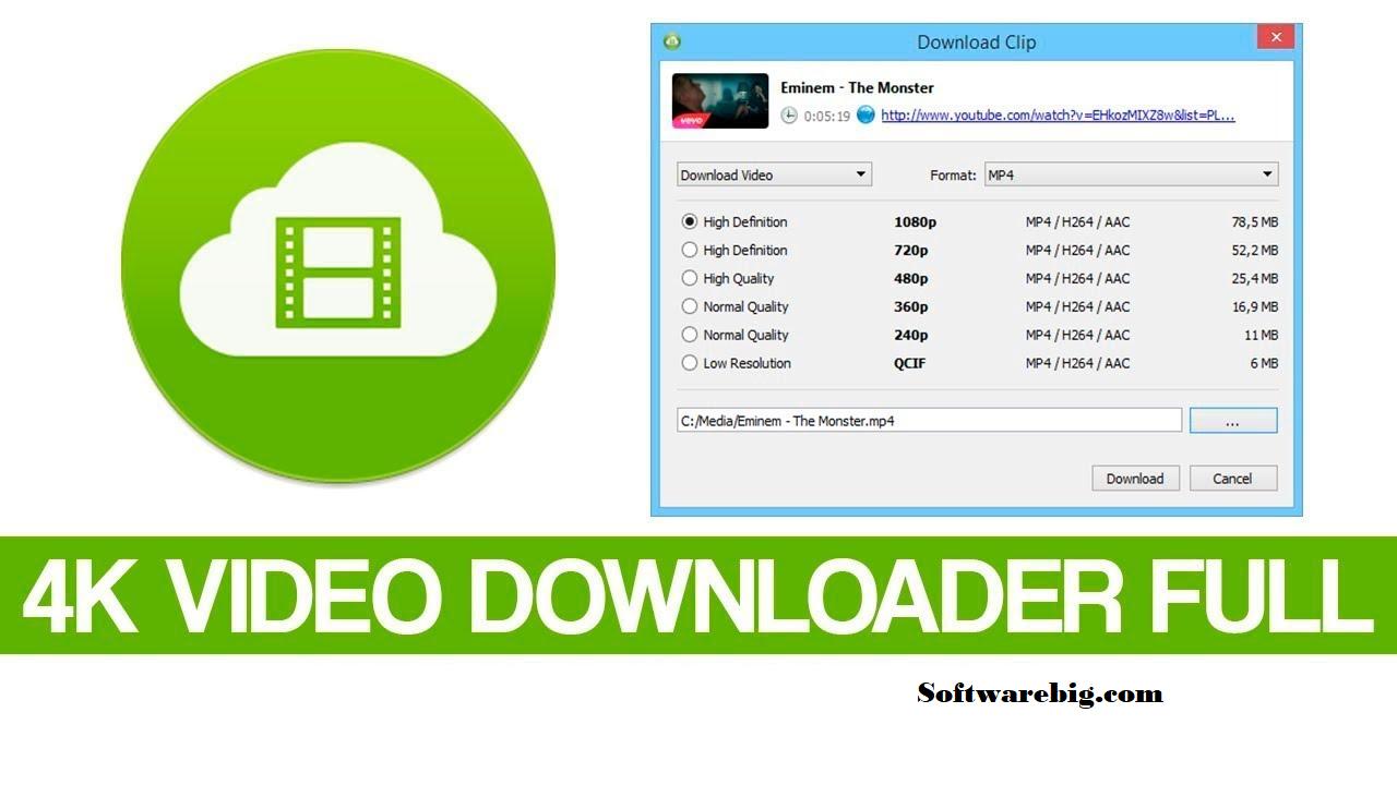 4K Video Downloader Crack + License Key 2020 Download