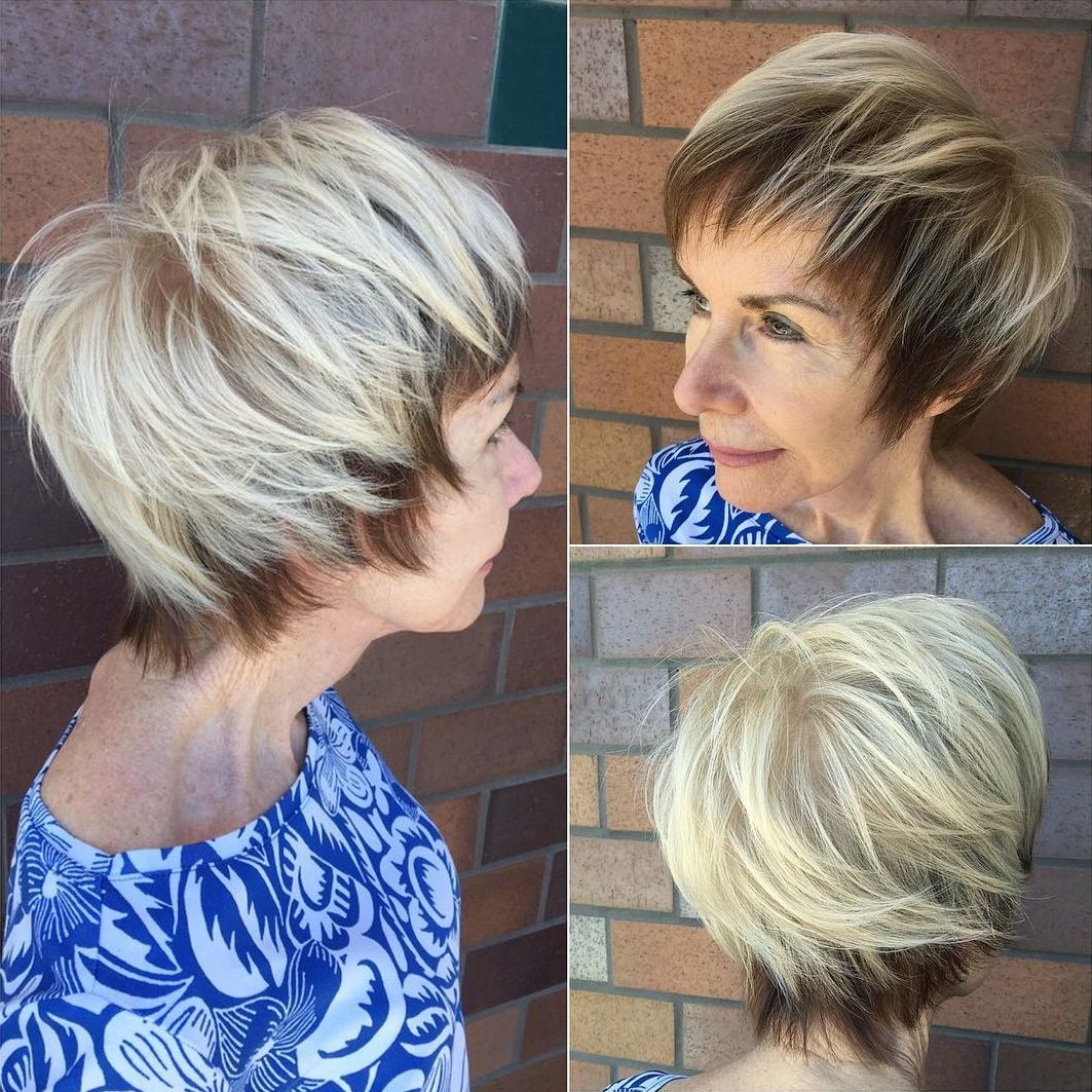Classy and Simple Short Hairstyles for Women over   Short