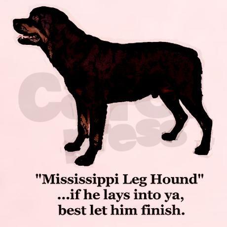 Leghound2 Light T Shirt Mississippi Leg Hound Light T Shirt By