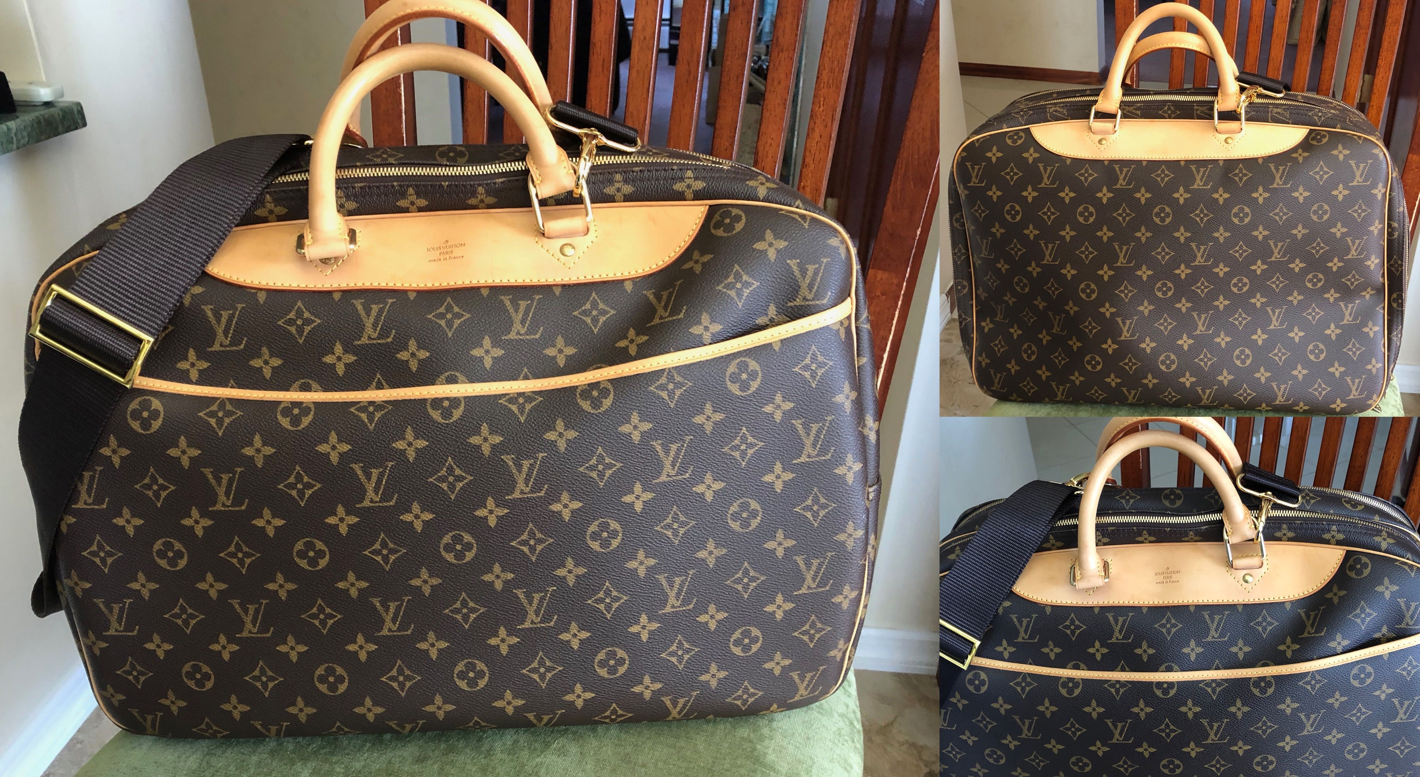 Absolutely Stunning Louis Vuitton Alize 24 Heures Bag Also Called The 24 Hour Bag Bought This Preowned And Handbag Buy Louis Vuitton Louis Vuitton Handbags