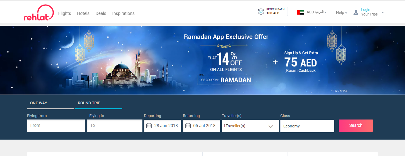 Rehlat Is A Travel Store Flights Hotels Booking Are Done At Rehlat For Rehlat Discountcodes Coupons Visit Yepo Hotel Deals Ramadan App Flight And Hotel