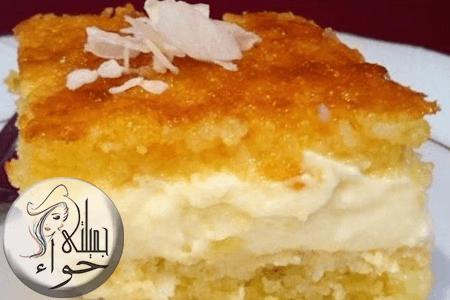 طريقه عمل البسبوسه Vanilla Cake Desserts Food
