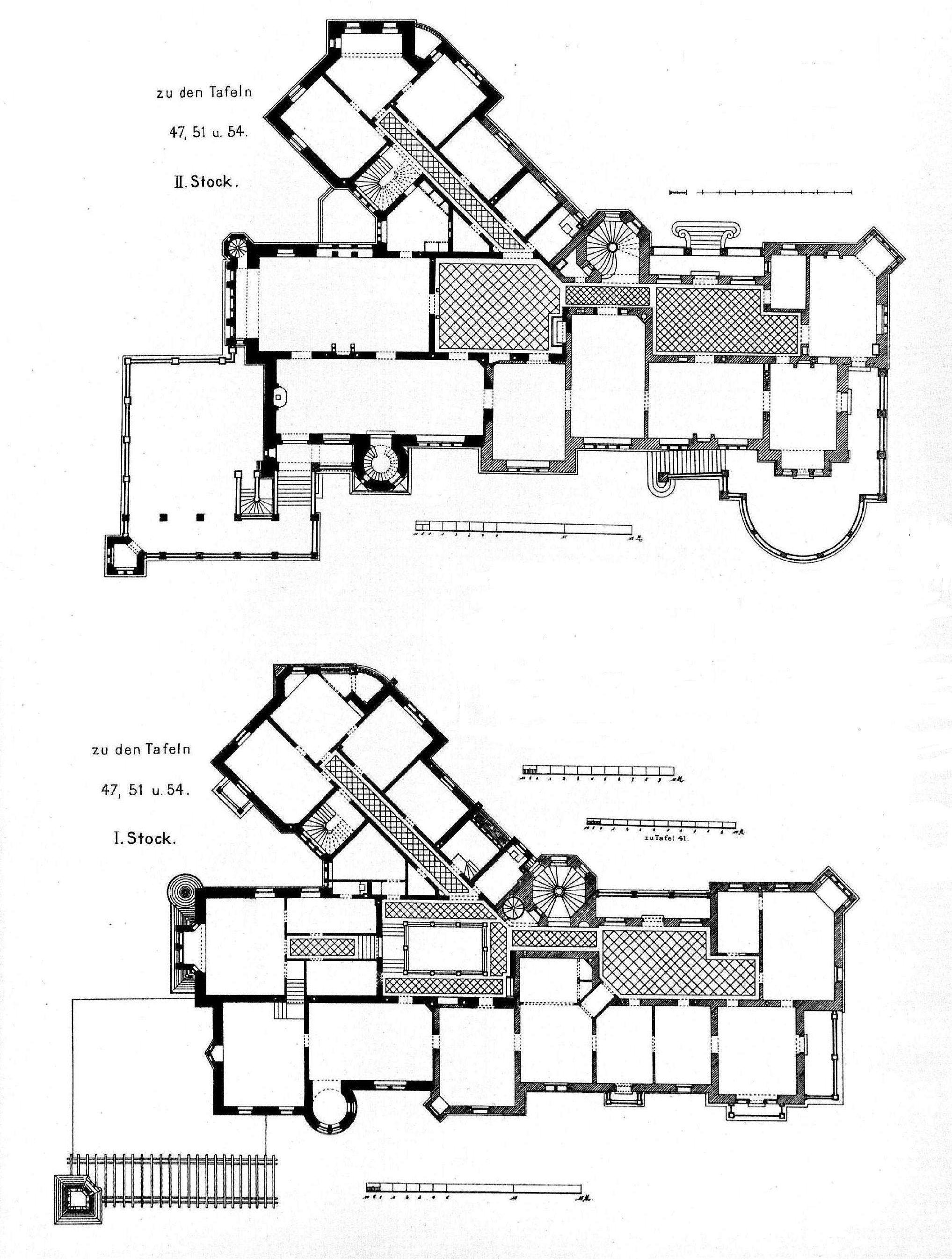schlo langenzell plans pinterest architecture. Black Bedroom Furniture Sets. Home Design Ideas