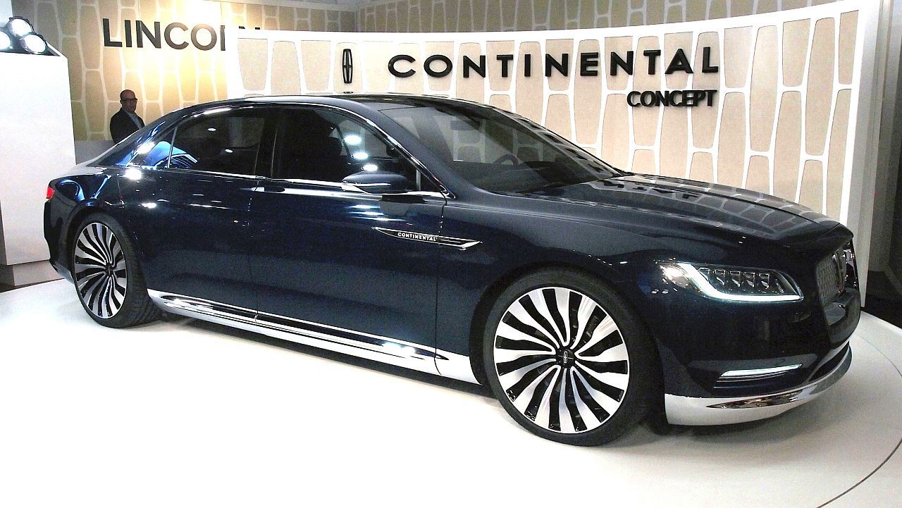 2016 Lincoln Continental Cars Release