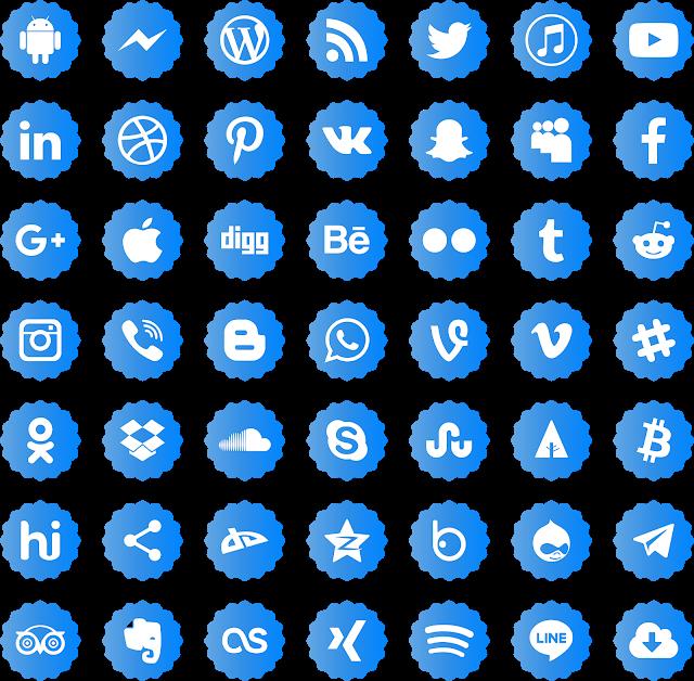 Download Icons Social Media Vectors Svg Eps Png Psd Ai Social Media Icons Vector Social Media Icons Social Media