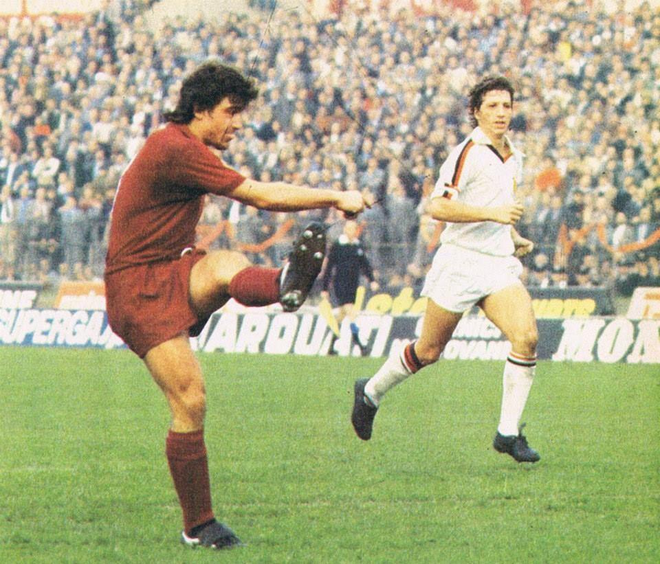 Eraldo Pecci, al Toro dal 1975-76 al 1980-81, 6 campionati, 154 partite, 10. reti, più 33 partite e 4 reti in Coppa Italia e 17 partite e 2 reti nelle Coppe Europee. Totale 204 partite, 16 reti nel Toro.