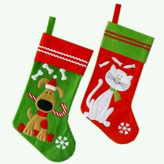 pet christmas stocking personalized pet stocking cat name